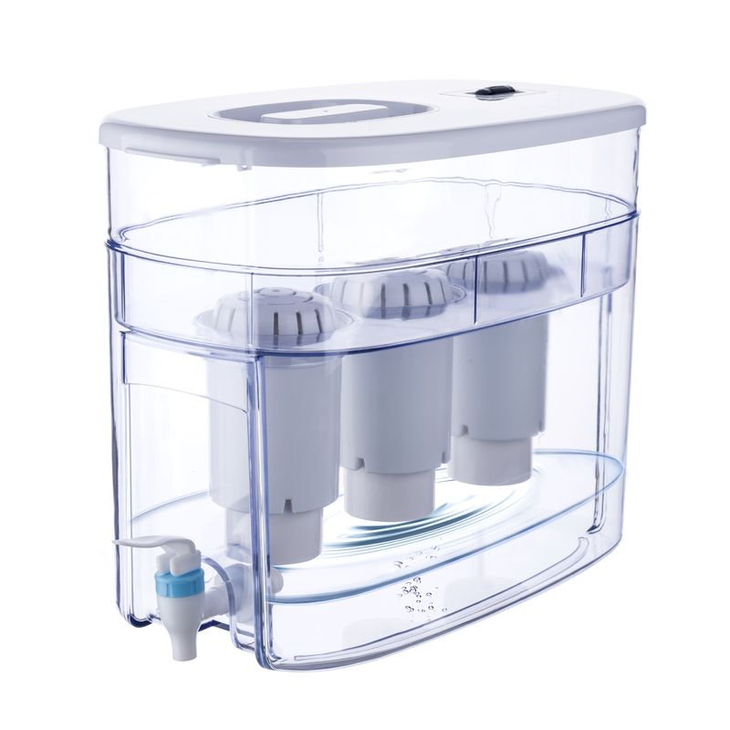 Kicthen Countertop Water Filter Dispenser , Water Filter Tank 9L Big Volume