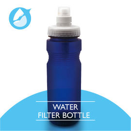 China Personal Water Purifier Bottle , PP Material Brita Filter Bottle 650ml Capacity factory