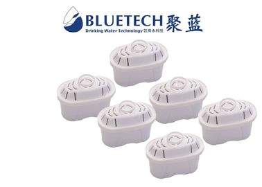 China OEM Brita Water Filter Pitcher Replacement Filters LFGB Testing Approval Food Grade Material distributor