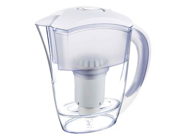 China White Bacteria Remove Water Filter Jugs With Alkaline Fitlers To Increase PH distributor