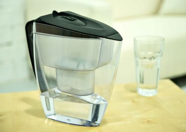 China 5 Cup / 6 Cup / 7 Cup / 18 Cup Water Purifier Pitcher 4 Step Filtration Carbon Resin Filter distributor