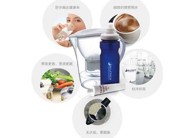 China BPA Free PP Drinking Water Filter Bottle With Carbon Filter To Improve Taste factory