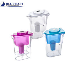 China ABS Plastic Resin Water Filter Jugs , Alkaline Water Filtration System Household Pre Filtration distributor