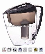 China Activated Carbon Resin Alkaline Bluetech Water Filter Pitcher Portable For Household distributor