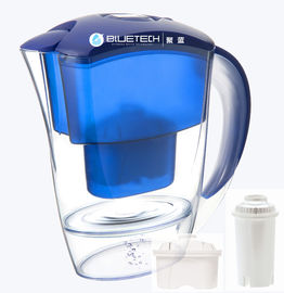 China Customized Alkaline Bluetech Water Filter Pitcher CE Approved Serviceable distributor